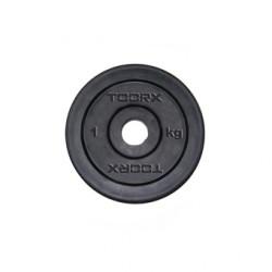 Toorx - Disco ghisa gommato  - 0,5 kg.
