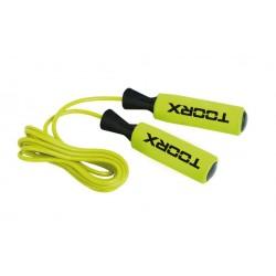 Toorx - Corda da salto in PVC impugnatura 'soft touch'