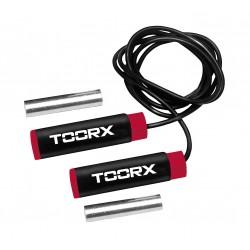 Toorx - Corda da salto in PVC con pesi