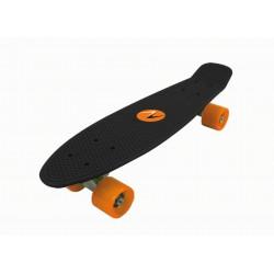 Nextreme - Skateboard FREEDOM  tavola nera - ruote arancio