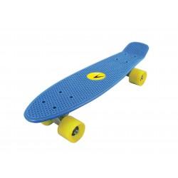 Nextreme - Skateboard FREEDOM  tavola azzurra - ruote gialle
