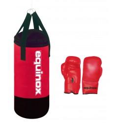 Toorx - Set boxe junior sacco boxe kg 3 con guanti  4 oz.