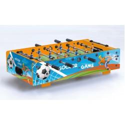 Garlando - Calciobalilla F-MINI da tavolo con grafica SOCCER GAME con aste rientranti
