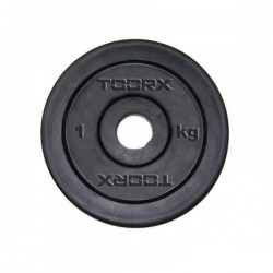 Toorx - Disco ghisa gommato 25mm disponibile da 1,2,5,10,15,20 kg