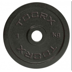 Toorx - Disco ghisa 25mm disponibile da 1,2,5,10,15,20 kg