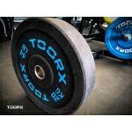 Toorx - Disco bumper Toorx diam 45 cm - foro 50 mm da 5/10/15/20/25 kg