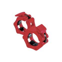 toorx - Coppia ferma dischi  SAFE LOCK -  rosso