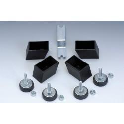Garlando - Set piedini regolabili per Foldy, G 200 e XXL