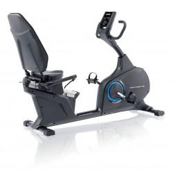 Kettler - Cyclette Recumbent S con fascia cardio Polar incluso World Tours 2.0 up-grade
