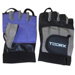 Toorx - Guanti in pelle, Spandex e pelle scamosciata - taglia S