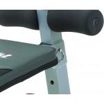 Everfit - Panca addominali WBK-200 richiudibile e pieghevole salva spazio
