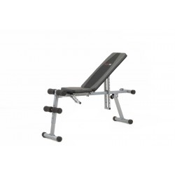Everfit - Panca piana e inclinabile multiuso WBK-400 richiudibile