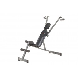 Everfit - Panca multifunzionale a cavi elastici WBK-600 FLEXI FIT richiudibile