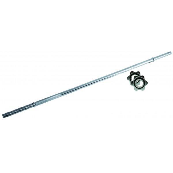 Toorx - Bilanciere Cromato 150 cm Vite