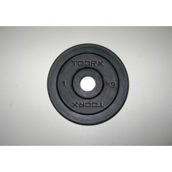 Toorx - Dischi Ghisa Gommata 1-2-5-10-15-20 Kg