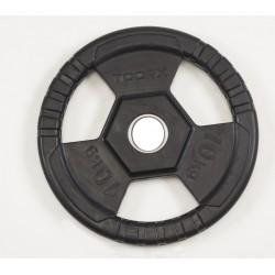 Toorx - Dischi Olimpionici 50mm Ghisa Gommata 1.25-2.5-5-10-15-20-25 Kg