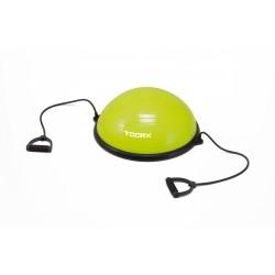 Toorx - Palla Bosu da ginnastica Ø 58 cm.con elastici pompa inclusa