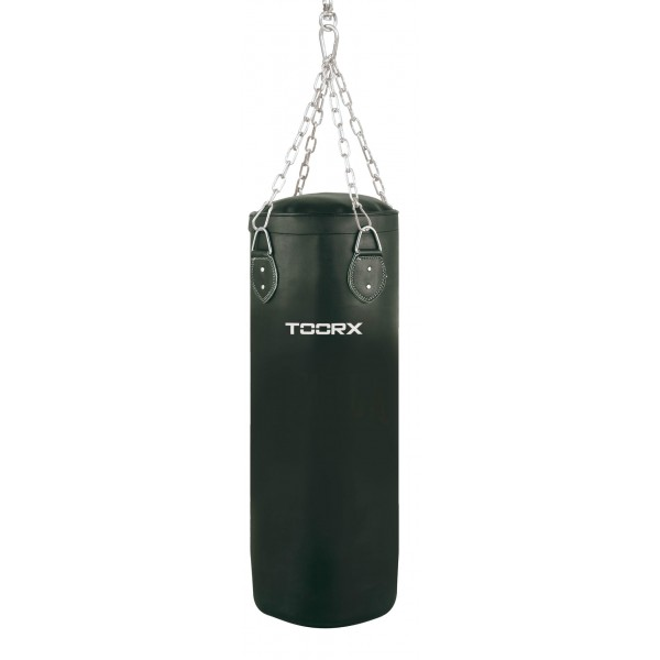 Toorx - Sacco in ecopelle peso 20 kg con 4 catene e gancio girevole