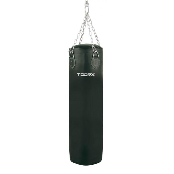 Toorx - Sacco in ecopelle peso 40 kg con 4 catene e gancio girevole