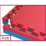 Toorx - Tatami ad incastro,100 x 100 x 4 cm superficie goffrata antiscivolo, anallergico