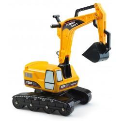 Falk - Escavatore cavalcabile giallo 330 D POWER SHIFT  (2/5 anni)