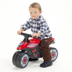 Falk - Moto cavalcabile X RACER rossa (1/3 anni)