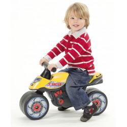 Falk - Moto cavalcabile X RACER gialla (1/3 anni)