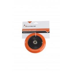 Netreme - Ruota arancio ø 120 mm. PVC con cuscinetti ABEC7 per monopattini