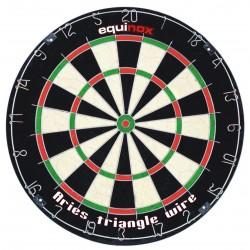 Equinox - Bersaglio per freccette ARIES in fibra Sisal incluse 6 freccette