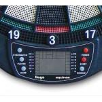Equinox - Bersaglio elettronico per freccette VEGA incluse 6 freccette