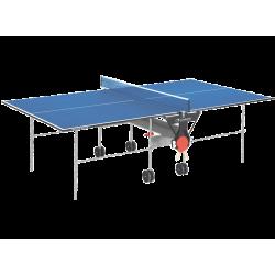 Garlando - Ping Pong Training Indoor con ruote - piano blu - per interno