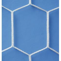 Gervasi Sport - Rete calcio  maglia esagonale mt 6 x 2 x 120 profondita